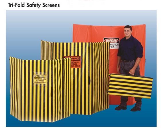 TRI-FOLD SAFETY SCREENS