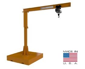 PORTABLE FORKPOCKET JIB CRANE