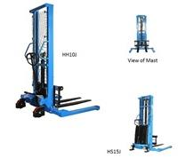 MANUAL AND SEMI-ELECTRIC STRADDLE STACKERS