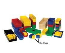 BIN CUPS FOR ECONOMY SHELF BINS