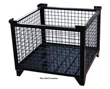 WIRE MESH BULK STEEL CONTAINERS